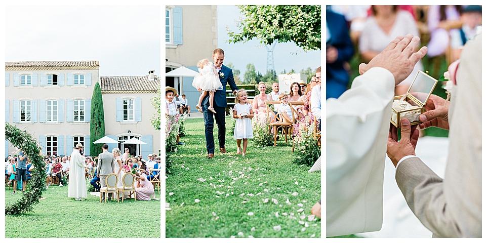 Mariage La Bastide des Barattes Cavaillon